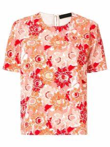 Anteprima sunflower print T-shirt - Orange
