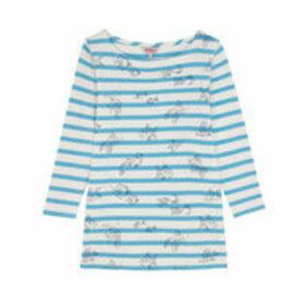 Ocean Fish Breton 3/4 Sleeve Top