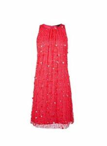 Womens **Showcase Hot Pink 'Violet' Dress, Pink