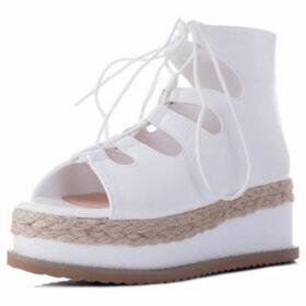 Spylovebuy  Bellow  women's Sandals in White