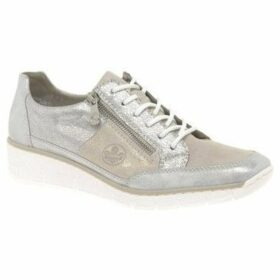 Rieker  Cora Womens Casual Trainers  women's Shoes (Trainers) in Silver