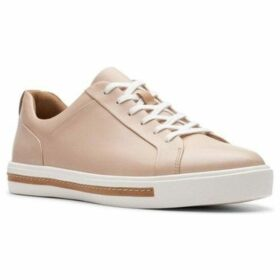 Clarks  Un Maui Lace Womens Casual Trainers  women's Trainers in Pink