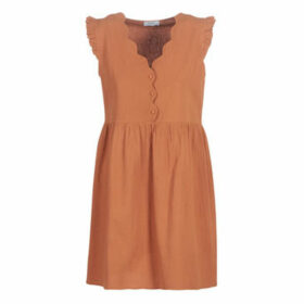 Betty London  KEYLE  women's Dress in Brown