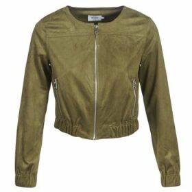 Only  ONLLEONA  women's Leather jacket in Green