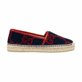 GG terry cloth espadrille