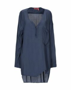 MANILA GRACE DENIM SHIRTS Blouses Women on YOOX.COM