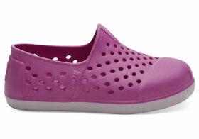 Red Violet Eva Tiny TOMS Romper Slip-Ons Shoes - Size UK6