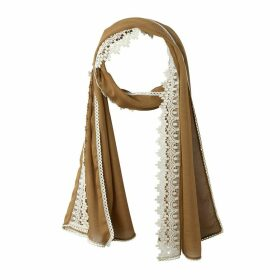 Plain Lace Scarf