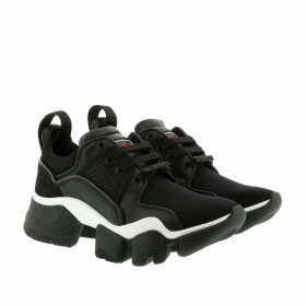 Givenchy Sneakers - Low JAW Sneakers Neoprene Leather Black/White - black - Sneakers for ladies