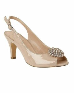 Lotus Elodie Court Shoes Standard D Fit