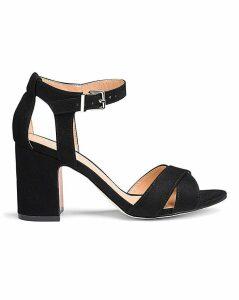 Helen Mid Block Heel Wide Fit