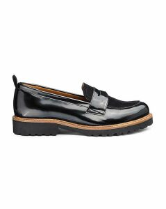 Keisha Chunky Loafer Extra Wide Fit