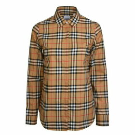Burberry Long Sleeve Check Shirt