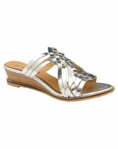 Ravel Marion Leather Wedge Sandals