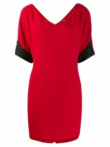 Gianfranco Ferré Pre-Owned mini T-shirt dress - Red