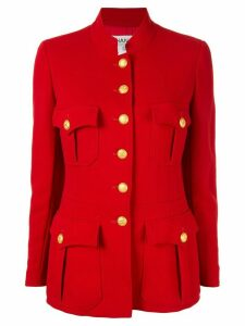 Chanel Pre-Owned long sleeve jacket - Red