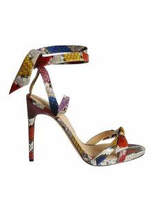 Alexandre Birman Color Block Sandals