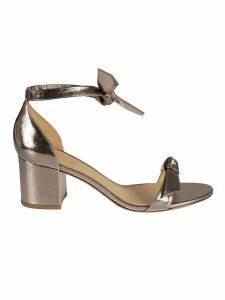 Alexandre Birman Block Heel Knot Sandals