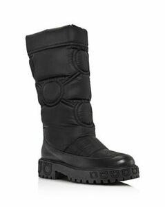Salvatore Ferragamo Women's Ashley Nylon Platform Boots