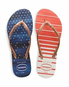 havaianas Women's Slim Usa Watercolor Flip-Flops