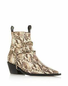 Anine Bing Women's Harris Pointed-Toe Block-Heel Booties