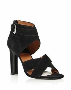Laurence Dacade Women's Toni High-Heel Suede Sandals