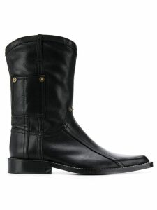 Martine Rose Cowboy boots - Black