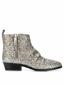 Golden Goose glitter detail boots - Metallic