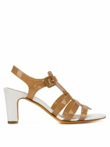 Maryam Nassir Zadeh heeled sandal - NEUTRALS