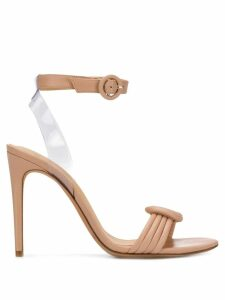 Alexandre Birman Vicky 100 sandals - NEUTRALS