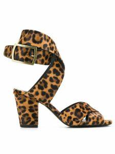 Saint Laurent Oak sandals - Brown
