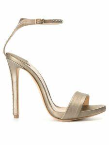 The Seller gemstone embellished heeled sandals - Gold