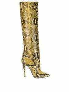 Saint Laurent Abbey boots - Yellow
