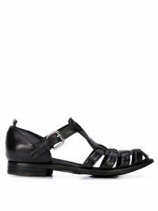 Officine Creative ballerina sandals - Black