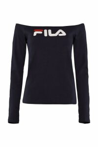 Fila Anna Cotton Off-the-shoulder Blouse