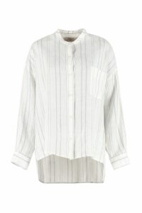 Weekend Max Mara Vicino Striped Linen Shirt