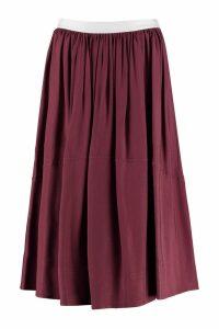 Golden Goose A-line Midi Skirt