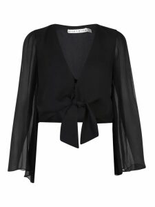Alice + Olivia Cropped Blouse
