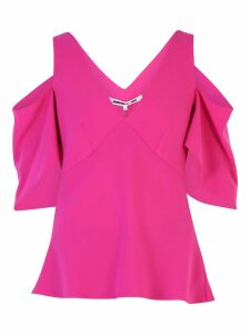 McQ Alexander McQueen Ruched Blouse