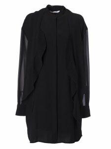 Givenchy Ruffled Trim Dress