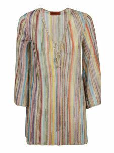 Missoni Rainbow Striped Blouse