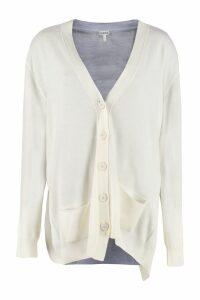 Loewe Asymmetric Wool Cardigan