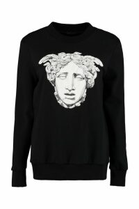 Versace Printed Oversize Sweatshirt