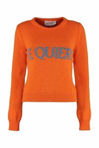 Alberta Ferretti te Quiero Intarsia Sweater