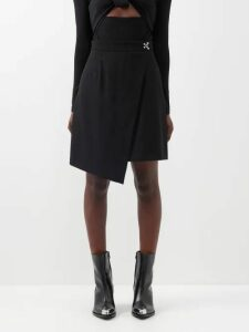 Innika Choo - Floral Embroidered Linen Blouse - Womens - Cream