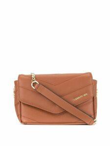 Cerruti 1881 foldover crossbody bag - Brown