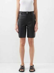 Raey - Long Line Fine Knit Cashmere Sweater - Womens - Purple
