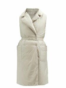 By Walid - Manal Floral-print Raw Silk Midi Dress - Womens - Black Multi