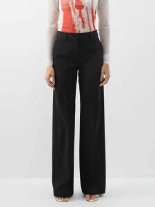 By Walid - Iris Floral-print Cotton-tulle Jacket - Womens - Ivory Multi