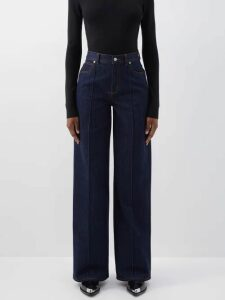 Norma Kamali - Side Striped Cotton Blend Track Jacket - Womens - Grey